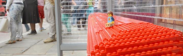 LEGO Bus Stop in Regent Street